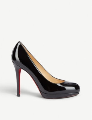 50a58ff48be CHRISTIAN LOUBOUTIN New Simple Pump 120 patent calf