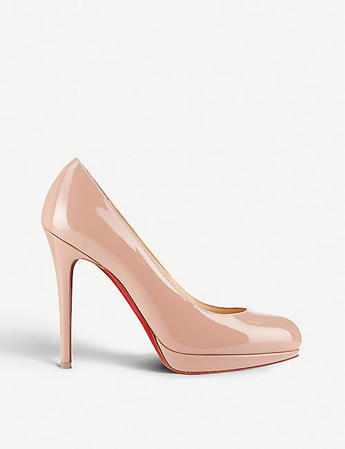 competitive price 45218 88f4a CHRISTIAN LOUBOUTIN - New simple pump 120 patent calf ...