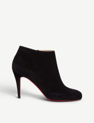 CHRISTIAN LOUBOUTIN Belle 85 veau velours black