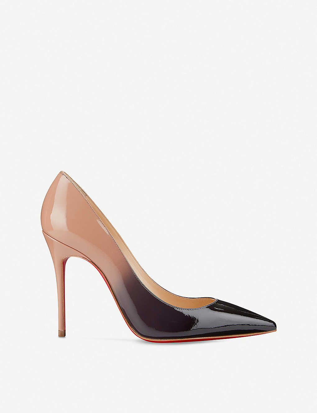 e3a6653786 CHRISTIAN LOUBOUTIN - Kate 100 patent degrade | Selfridges.com