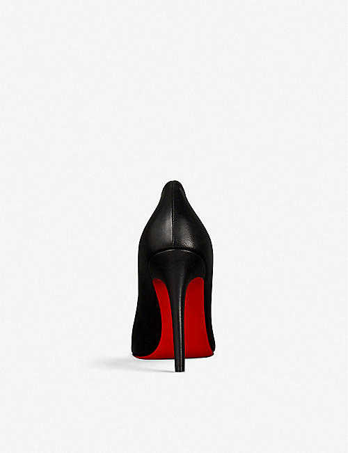 3447d933dd5 CHRISTIAN LOUBOUTIN Pigalle 100 nappa shiny