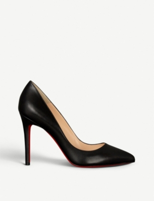 CHRISTIAN LOUBOUTIN Pigalle 100 nappa shiny
