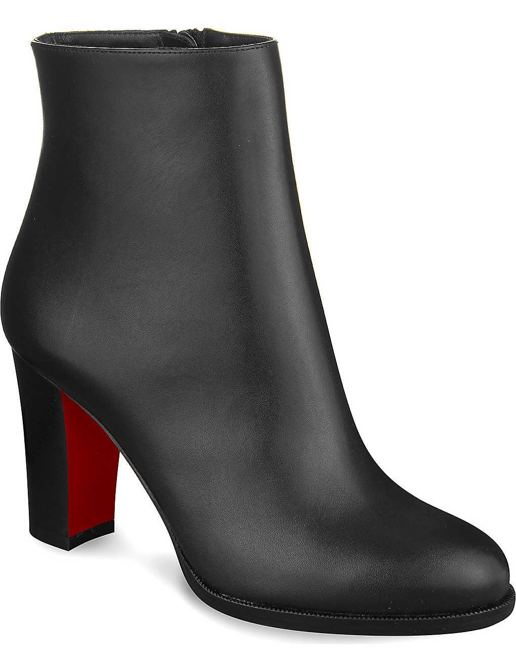 38eb4d9c8f6a CHRISTIAN LOUBOUTIN - Adox 85 calf cuoio heel
