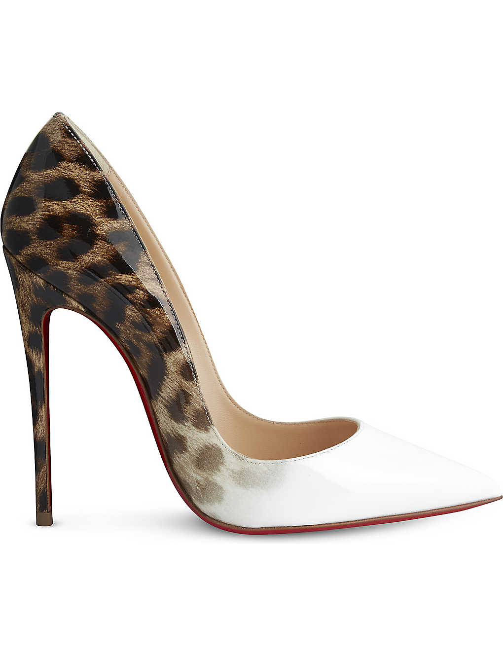 999e088fd728 CHRISTIAN LOUBOUTIN - So kate 120 patent degrade leopard ...