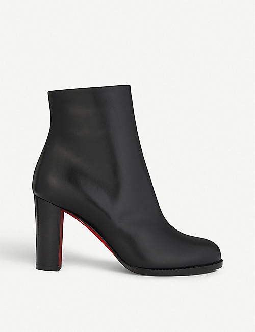 CHRISTIAN LOUBOUTIN Adox 85 calf leather heeled ankle boots 2d1bc5a05aea