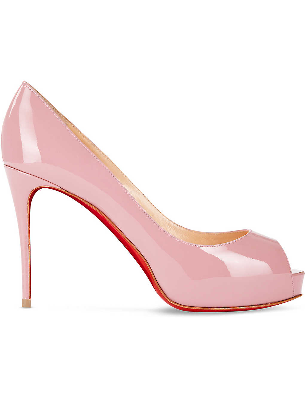 new arrival 06a8c a5250 CHRISTIAN LOUBOUTIN - New Very Prive 100 patent | Selfridges.com