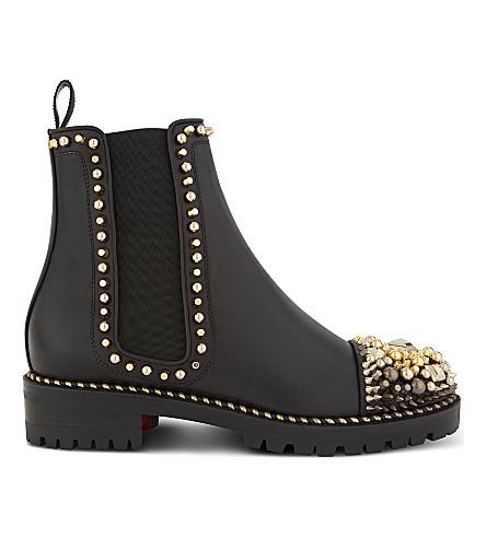 buy popular 9bc2d 3f162 ireland louboutin boots zippers tab 2b405 12a26