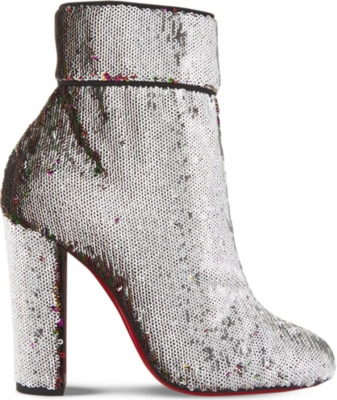 new style f3ab0 daf00 CHRISTIAN LOUBOUTIN - Moulamax 100 paillettes caresse/gg ...