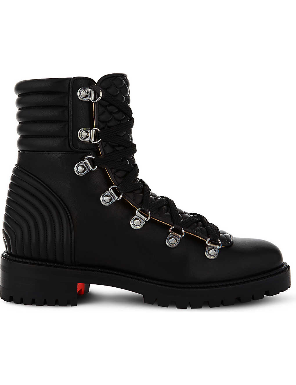 finest selection c151d e82af CHRISTIAN LOUBOUTIN - Mad Boot flat nappa shiny | Selfridges.com
