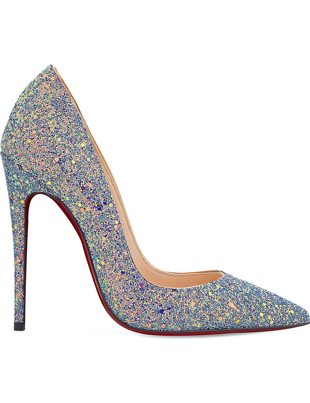 100% authentic 6cf60 7a0c2 CHRISTIAN LOUBOUTIN - So Kate 120 glitter dragonfly ...