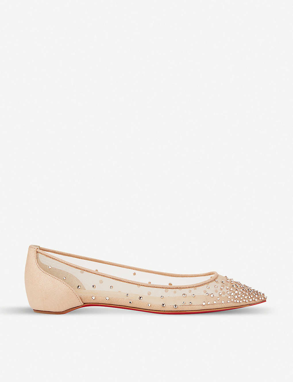 02ab0884822 Follies strass flat rete/suede