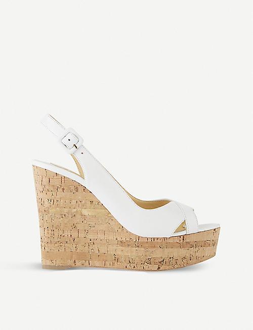 best loved 61b65 8aff0 Wedge sandals - Sandals - Womens - Shoes - Selfridges | Shop ...