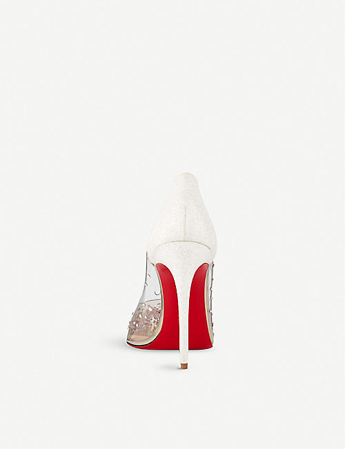CHRISTIAN LOUBOUTIN Degrastrass pvc 100 pvc/gl mini/sp