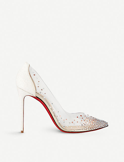 save off 74308 692af CHRISTIAN LOUBOUTIN - Degrastrass pvc 100 pvc/gl mini/sp ...