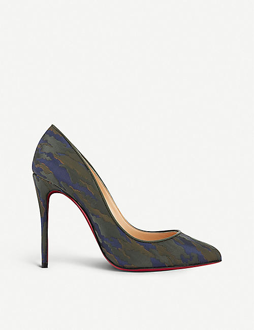 CHRISTIAN LOUBOUTIN Pigalle follies 100 jq camouloubi