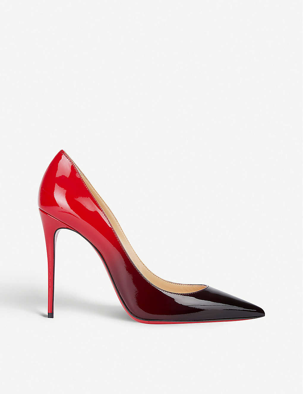 CHRISTIAN LOUBOUTIN: Kate 100 patent degrade
