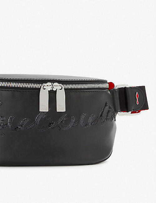 CHRISTIAN LOUBOUTIN Marie jane belt bag calf paris/logo star