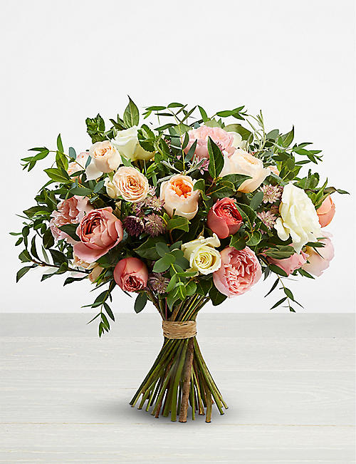 THE REAL FLOWER COMPANY Romantic Juliet large bouquet