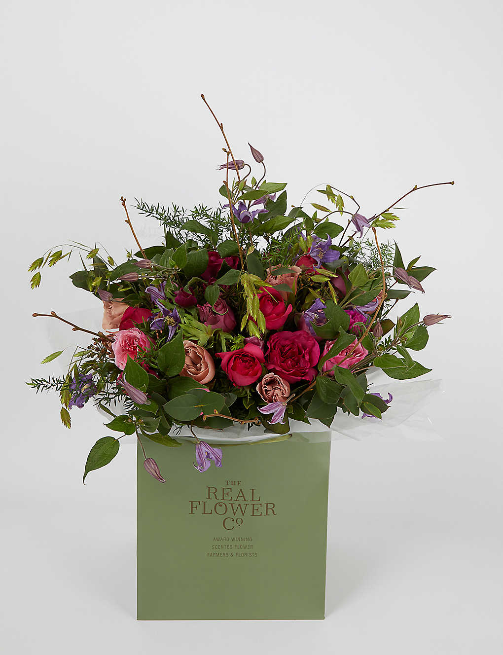 THE REAL FLOWER COMPANY: Mother's Day Woodland extra large bouquet