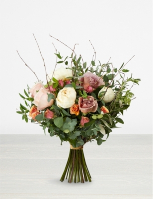THE REAL FLOWER COMPANY Antique Seasonal scented bouquet