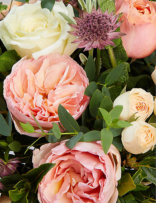 THE REAL FLOWER COMPANY Romantic Juliet scented bouquet