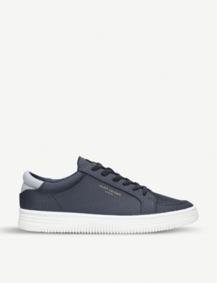 KURT GEIGER LONDON Valadez low-top faux-leather trainers