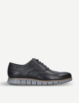 COLE HAAN Zerogrand leather oxford shoes