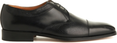 STEMAR Toecap leather Derby shoes