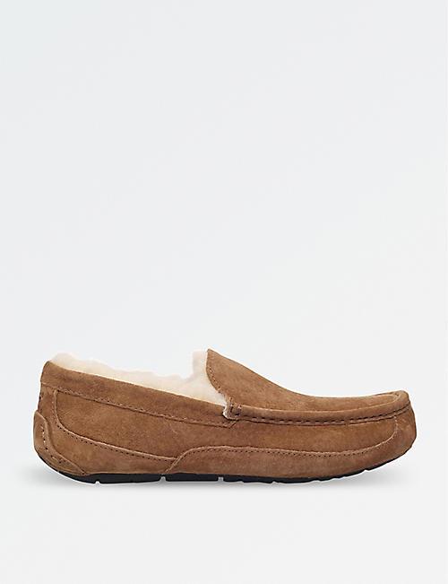 9de75a66b62 UGG Ascot suede slippers