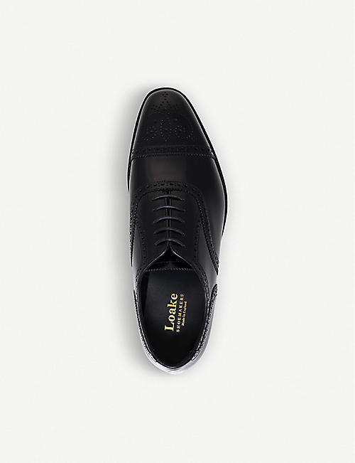 LOAKE Overton leather brogues
