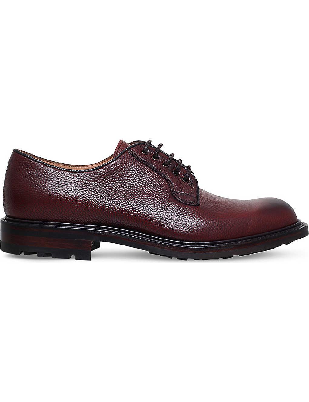 3fa07c70d88d8 JOSEPH CHEANEY - Teign grained leather Derby shoes   Selfridges.com