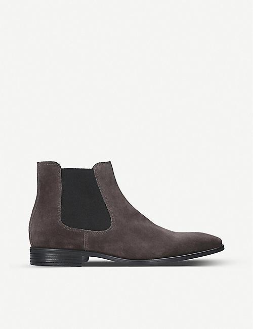 4127e939d4f KURT GEIGER LONDON - Frederick suede Chelsea boots | Selfridges.com