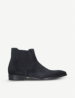 KURT GEIGER LONDON Frederick suede Chelsea boots