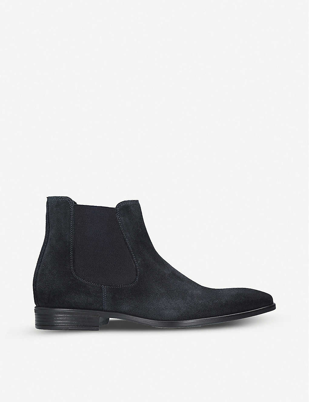 KURT GEIGER LONDON: Frederick suede Chelsea boots