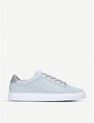 KURT GEIGER LONDON: Donnie leather trainers