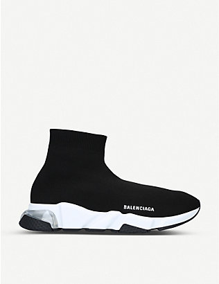 BALENCIAGA: Speed stretch-knit trainers