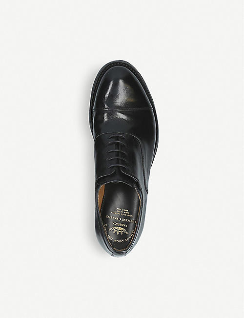 986b3a57c3 OFFICINE CREATIVE Anatomia laceless leather Derby shoes