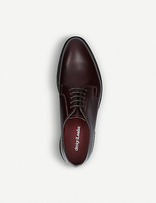 LOAKE Ghost leather Derby shoes