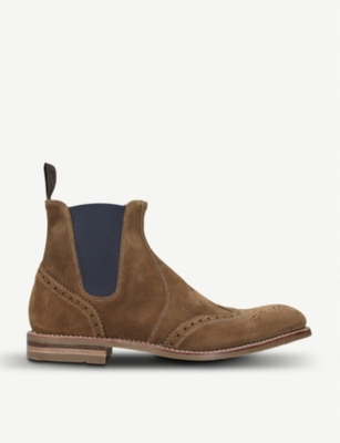 LOAKE Hoskins suede Chelsea boots