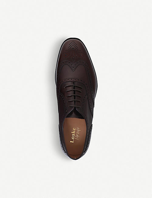 LOAKE Lowick WC OX leather brogues