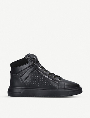 KURT GEIGER LONDON Jacobs leather low-top trainers