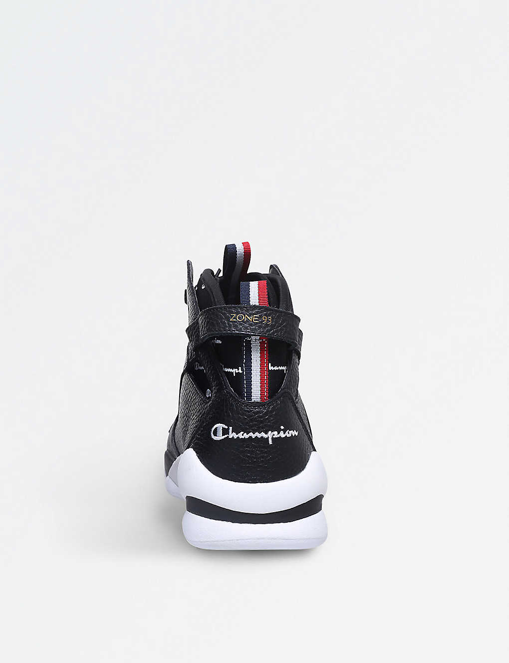 696837b5792c5 CHAMPION - Zone  93 leather high-top trainers