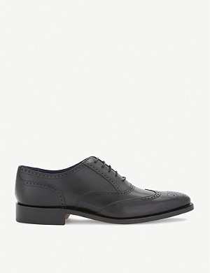 BARKER Leather oxford brogues