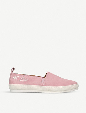 KURT GEIGER LONDON Poole suede espadrilles