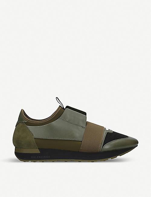 3047d37333bd BALENCIAGA - Lace up trainers - Trainers - Mens - Shoes - Selfridges ...