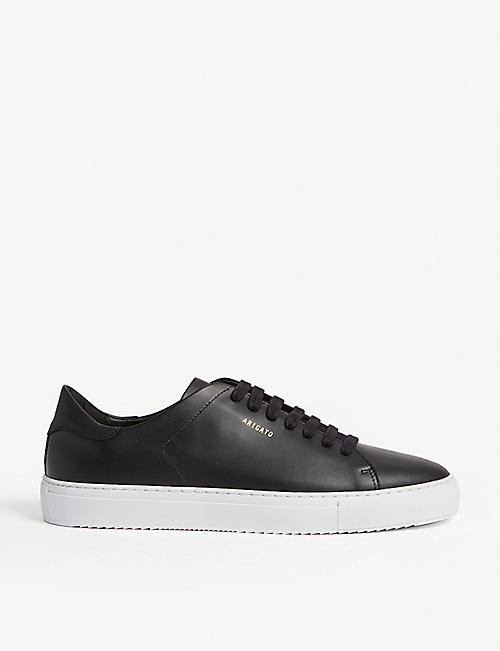 AXEL ARIGATO Clean 90 leather and suede trainers