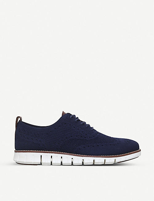 COLE HAAN Zerogrand Stitchlite knit oxford shoes