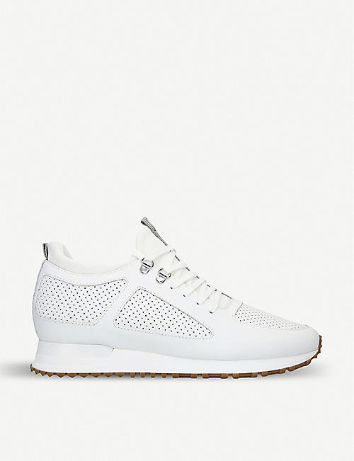 huge discount 952a0 0a929 MALLET Diver perforated leather trainers