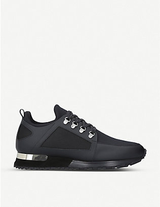 MALLET: Hiker leather and neoprene trainers