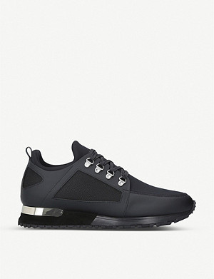MALLET Hiker leather and neoprene trainers